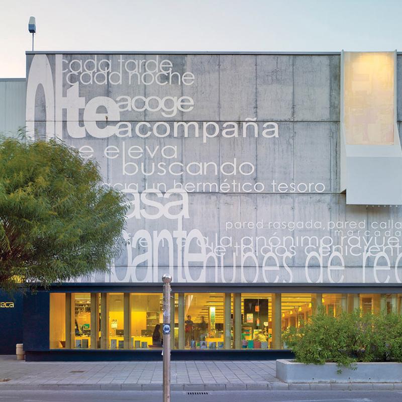 Biblioteca Municipal San Vicente del Raspeig, (Alicante)
