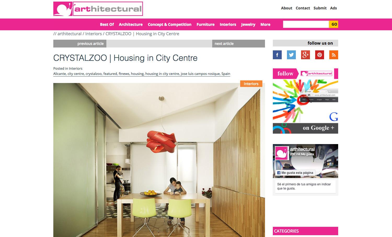 Crystalzoo - Publicaciones - Arthitectural