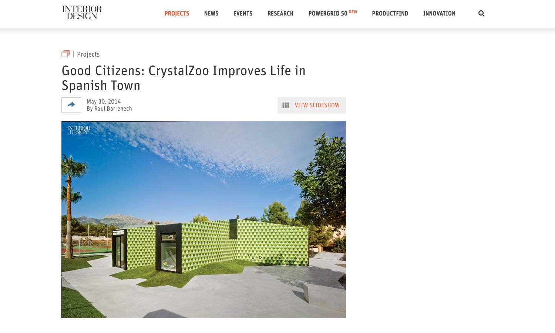 Crystalzoo - Publicaciones - Revista Interior Design