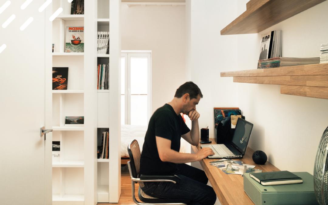 Todos nuestros postres son caseros: Espacios de trabajo en casa