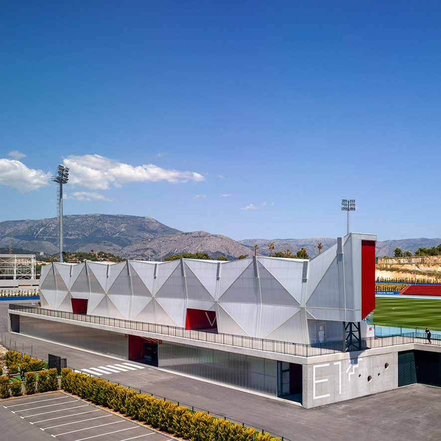 Olympic Stadium and Football Field, La Nucía (Alicante)